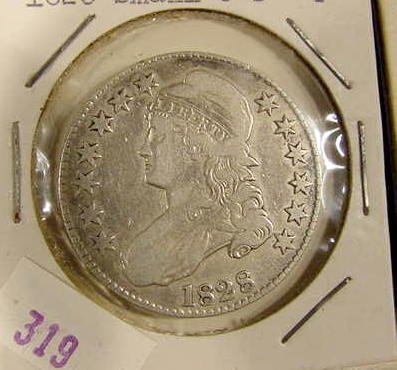 322: 2 Bust Halves--1828 & 1832