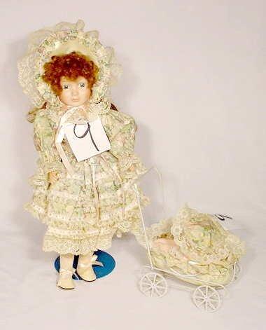 1009: Marion Yu Designs Porcelain & Cloth Doll
