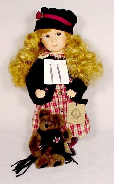 """1011: Boyd's Collection Doll """"Brittany"""""""