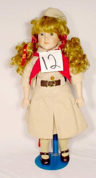 1012: Marion Yu Designs Doll, Dressed as a Girl Scout