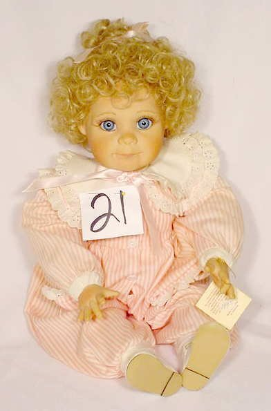 """1021: The Collectibles Doll """"Alexandra"""" by P. Parkins"""