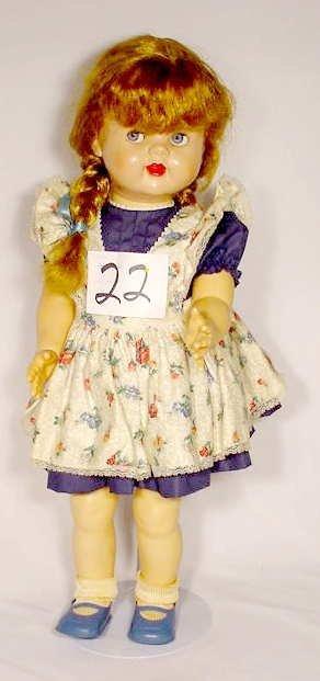 1022: Ideal Hard Plastic Saucy Walker Doll