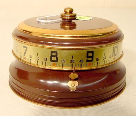 13: Tape Clock, Marked Made In U.S.A. NR