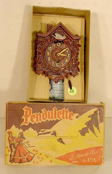 24: Lux #301 Bluebird Pendulette With Box NR