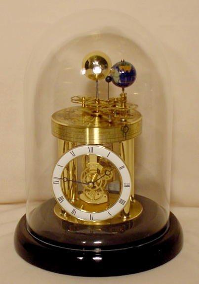29: Hermle Domed Orrery & Zodiac Clock NR