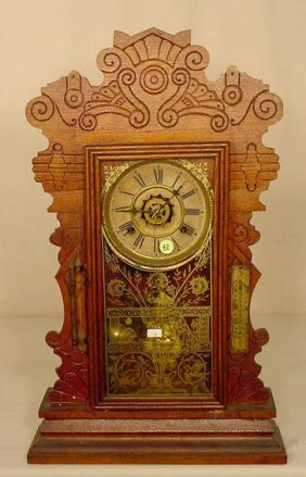 Waterbury Parlor Clock With Alarm NR