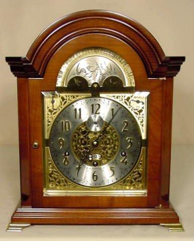 57: Keininger 9 Bell Bracket Type Clock NR