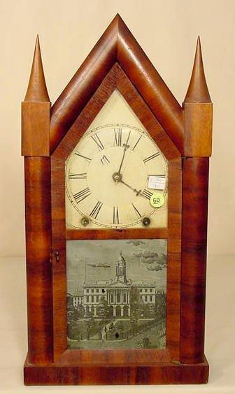 60: Gilbert Steeple Clock NR