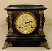 149 Seth Thomas Adamantine Mantle Clock NR