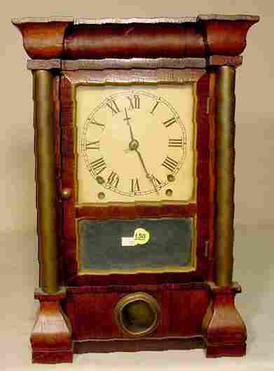 Seth Thomas Rosewood Bulls Eye Clock NR