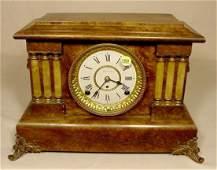 160 Seth Thomas Adamantine Mantle Clock NR