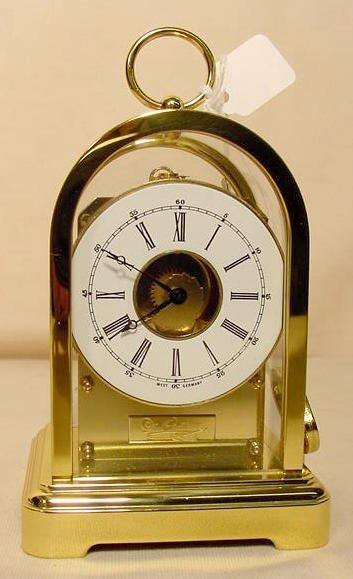 234: 3 Du Chateau Modern Desk Clocks NR - 2