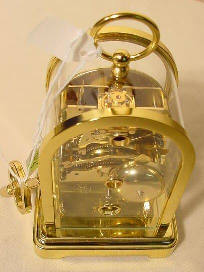 234: 3 Du Chateau Modern Desk Clocks NR - 3