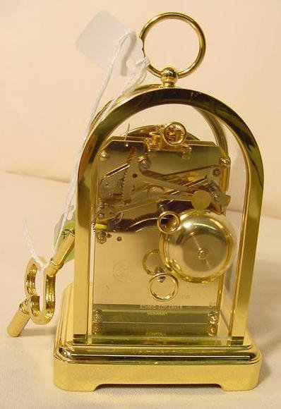 234: 3 Du Chateau Modern Desk Clocks NR - 4