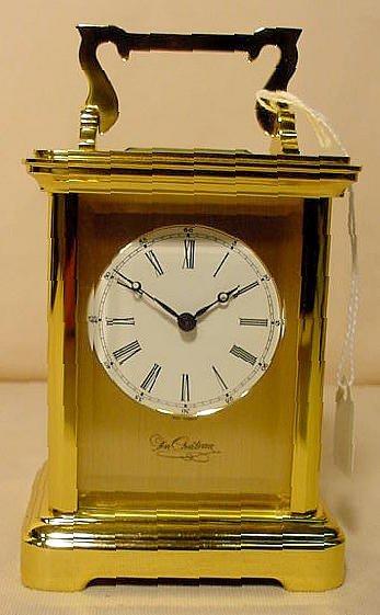 234: 3 Du Chateau Modern Desk Clocks NR - 6
