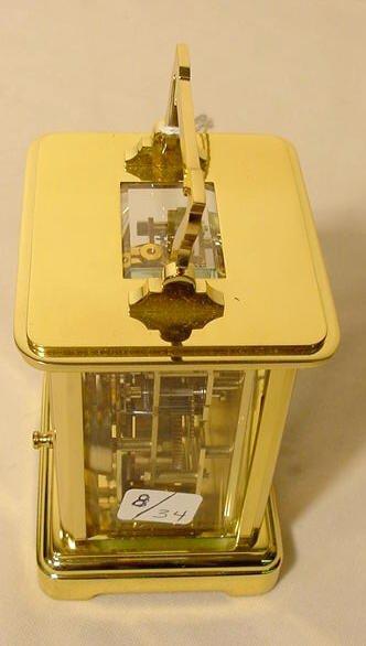 234: 3 Du Chateau Modern Desk Clocks NR - 8