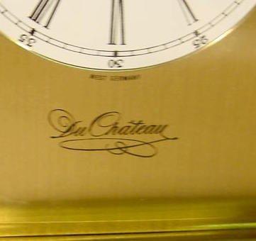 234: 3 Du Chateau Modern Desk Clocks NR - 9