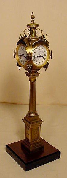 237: K B Germany Desk Top Street Clock NR