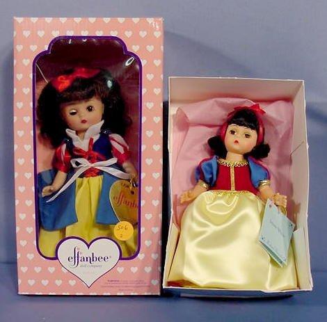 506: Madame Alexander & Effanbee Snow White Dolls NR