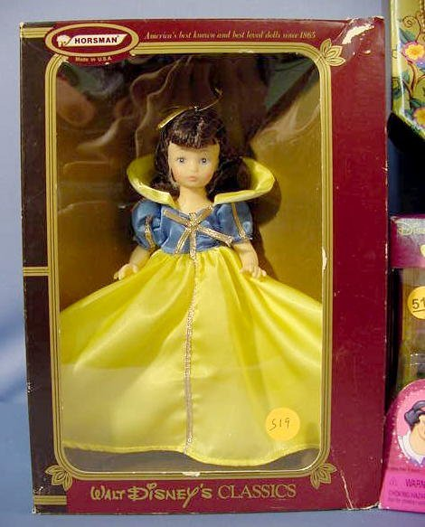 519: Mattel & Horsman Snow White Collectibles NR - 2