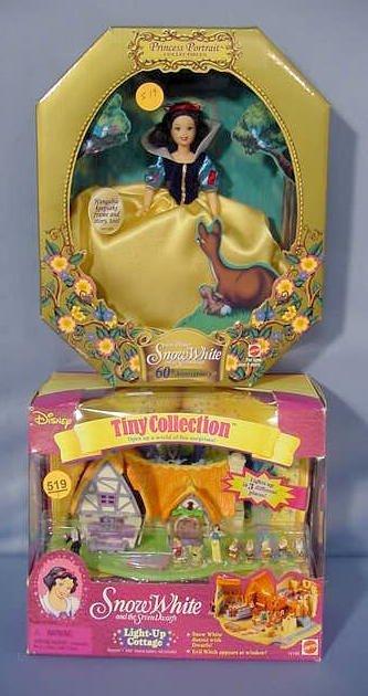 519: Mattel & Horsman Snow White Collectibles NR - 3