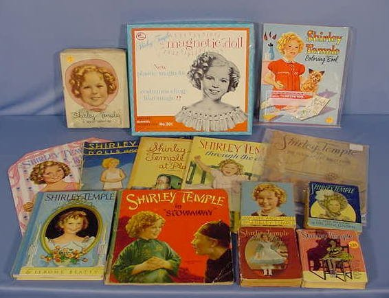 536: 14 Shirley Temple Books: Hard Cover & Paperback