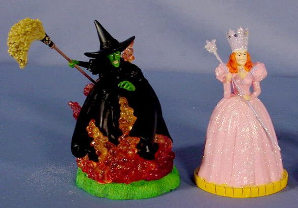 554: 6 Enesco Wizard of Oz Figurines, Main Characters - 2
