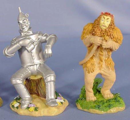 554: 6 Enesco Wizard of Oz Figurines, Main Characters - 4