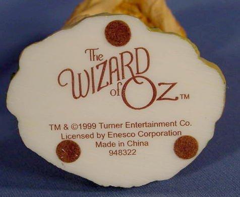 554: 6 Enesco Wizard of Oz Figurines, Main Characters - 5