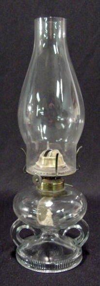 20: Ripley Double Finger Kerosene Lamp NR