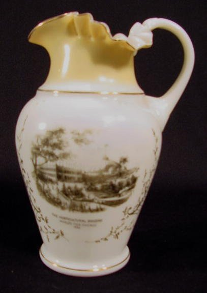 21: Austrian Columbian Exhibition Water Pitcher NR
