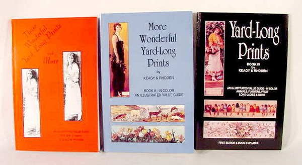 3002: 1 Set of 3 Keagy & Rhoden Yard-Long Print Books