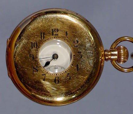 1805A: Swiss Demi Case Pocket Watch NR