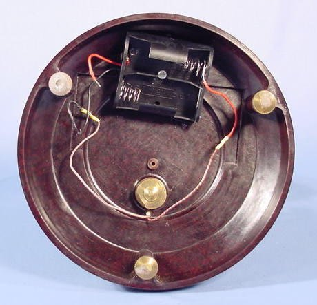 1809A: Bulle Battery Operated Dome Clock NR - 8