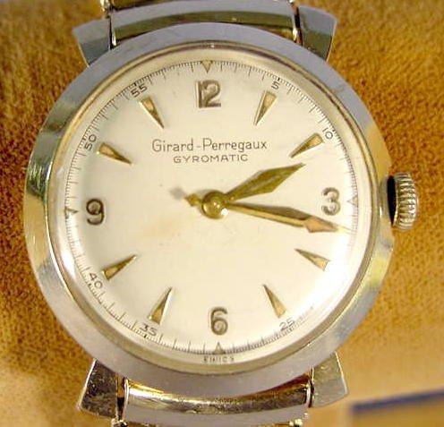 1817A: Girard Perregaux Gyromatic Wrist Watch NR