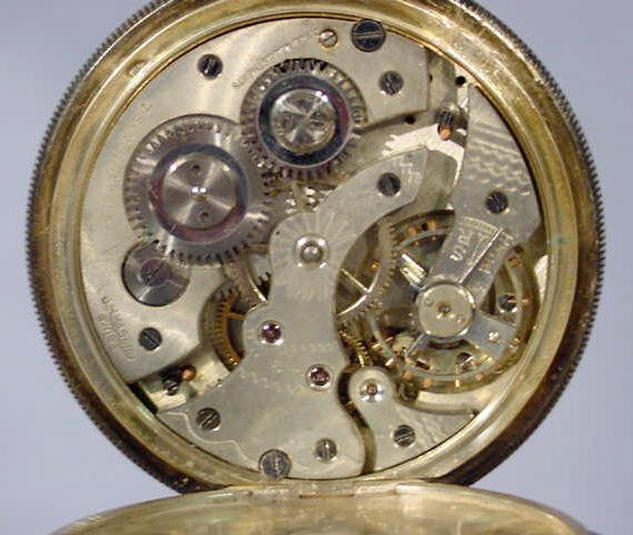 1820A: J. H. Hasler Calendar & Moon Phase Pocket Watch - 5