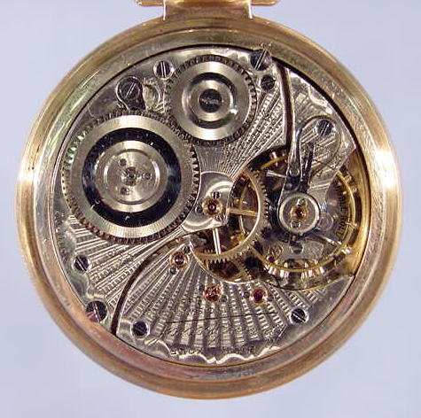 1855: Illinois Bunn Special 60 Hour Pocket Watch NR