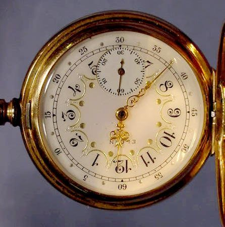 1863C: Elgin Ladies 0 S Pocket Watch NR - 2