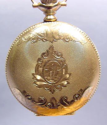 1863C: Elgin Ladies 0 S Pocket Watch NR - 4