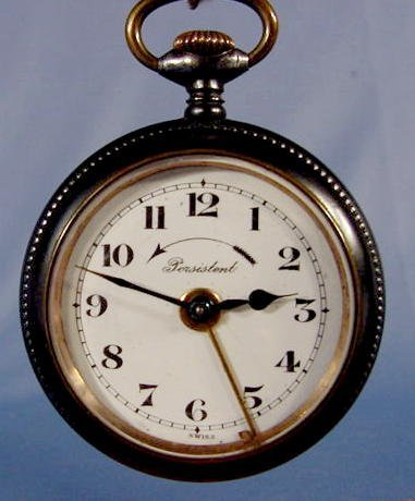 1948: 3 Swiss Alarm Pocket Watches NR - 4