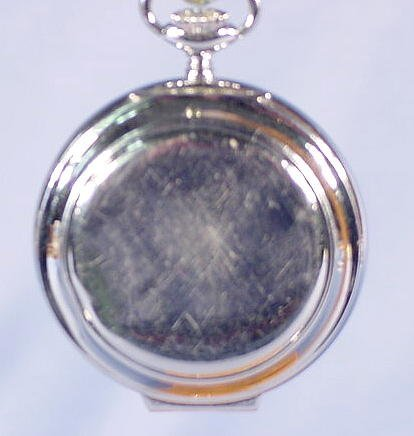 1948: 3 Swiss Alarm Pocket Watches NR - 9