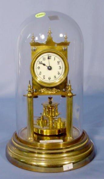 2005: Gustav Becker 400 Day Dome Clock NR
