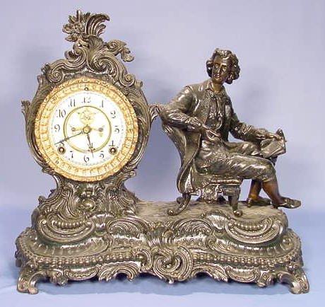 2006: Ansonia Composer Statue Clock NR