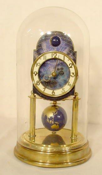 2008: Kaiser Enameled Brass Dome Clock NR