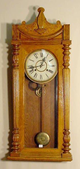2009: Waterbury Wall Regulator Clock NR