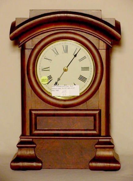 2015: Seth Thomas Arch Top Shelf Clock NR