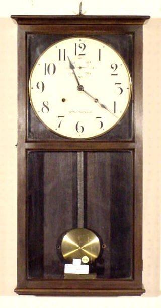 2016: Seth Thomas 30 Day # 16 Office Clock NR