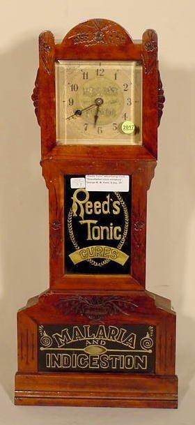 2017: Reeds Tonic Miniature Grandfather Clock NR