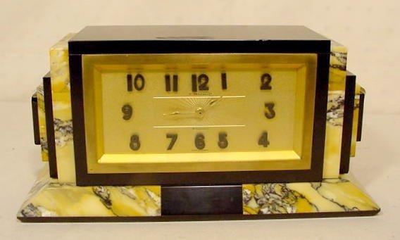 2020: French Art Deco Desk Clock NR