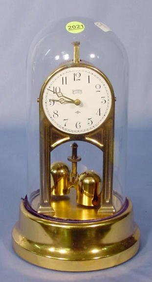 2021: Tiffany Never wind Dome Clock NR